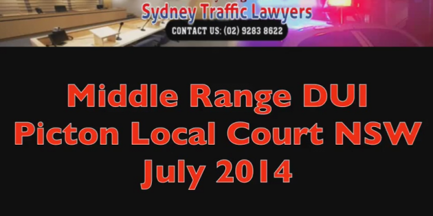 Picton Court DUI July 2014 video cover picture