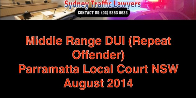 Parramatta Middle Range PCA repeat offence_August 2014