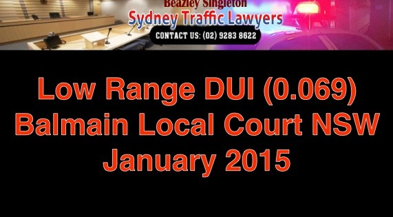balmain local court low range dui january 2015